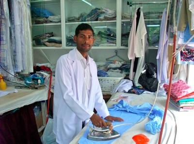 Suresh ironing