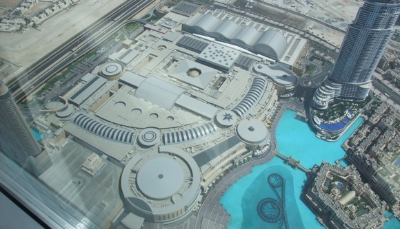 Dubai-Mall-from-above