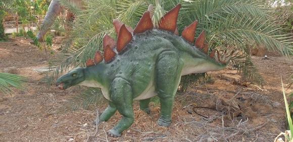 Al-Ain-Wildlife-Park-Dinosaur-Exhibition-stegasaurus