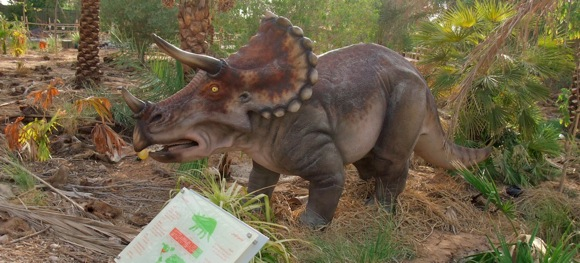 Al-Ain-Wildlife-Park-Dinosaur-Exhibition-triceratops
