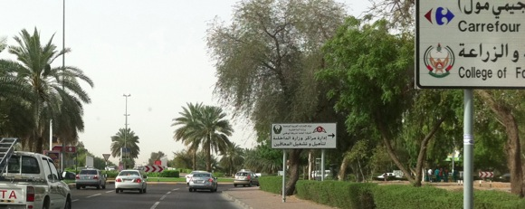 Directions from dubai to the al ain municipality theatre for Diwan roundabout al ain